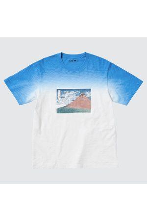 UNIQLO Short Sleeve - Hokusai Fujiyama Ut (Short-Sleeve Graphic T-Shirt), , XXS