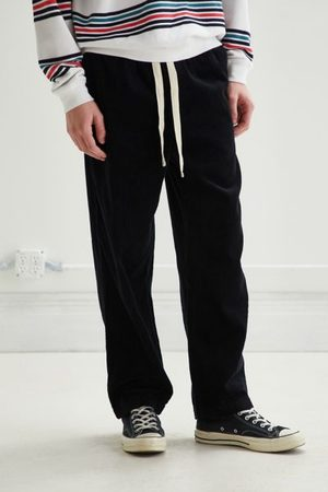 Urban Outfitters Men Wide Leg Pants - UO Wide Wale Corduroy Relaxed Fit Beach Pant