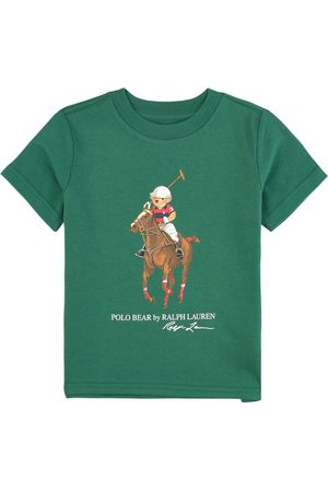 Ralph Lauren Kids - Tee with Large Polo Player - 2 years - - T-shirts