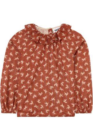 Molo Mini Horse Woven Rayanne Blouse - 92/98 cm - - Long sleeved t-shirts