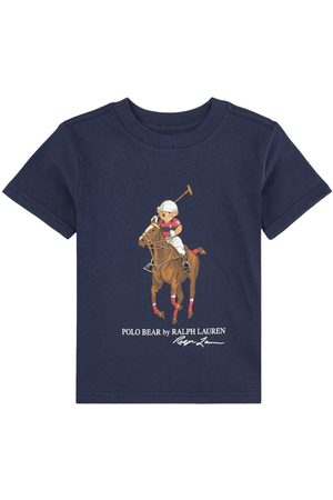 Ralph Lauren Kids - Navy Tee with Large Polo Player - 2 years - Navy - T-shirts