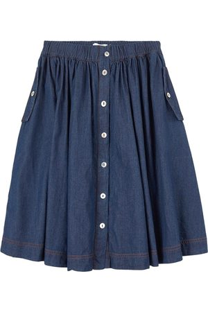Molo Washed Dark Bolette Skirt - 146/152 cm - - Denim skirts