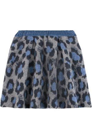 PAADE Leopard Print Alaska Skirt - 4 years - - Pleated skirts