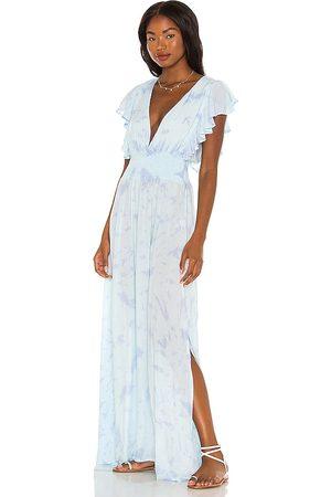 TIARE HAWAII Women Maxi Dresses - Dahlia Maxi Dress in Baby .