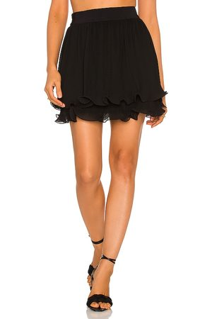 Milly Ria Chiffon Pleated Skirt in .