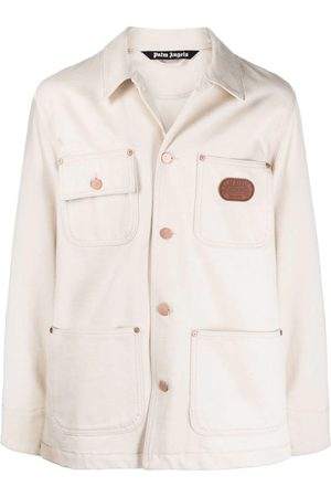 Palm Angels X Missoni Off Logo Denim Chore Jacket