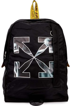 OFF-WHITE Caravaggio printed nylon backpack