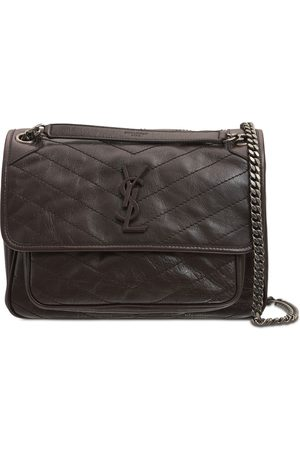 Saint Laurent Medium Niki Monogram Leather Bag