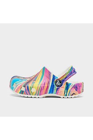 Crocs Clogs - Girls' Toddler Classic Clog Shoes Size 4.0