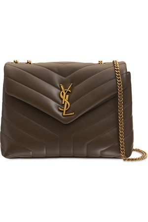 Saint Laurent Small Loulou Puffer Leather Bag