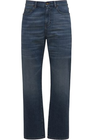 Saint Laurent Men Straight - Authentic Straight Denim Jeans