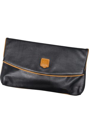 Céline Triomphe Vintage leather clutch bag