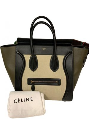 Céline Luggage leather tote
