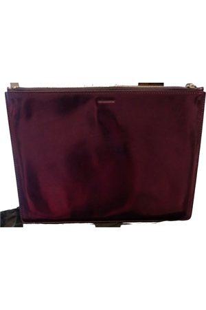 Jil Sander Leather clutch bag