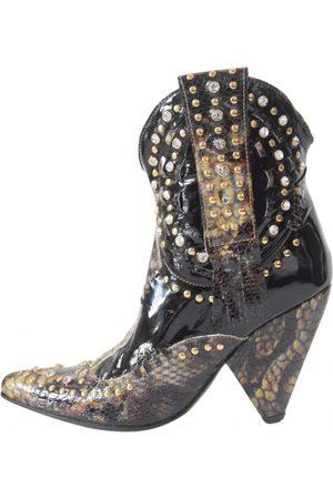 EL VAQUERO Leather western boots