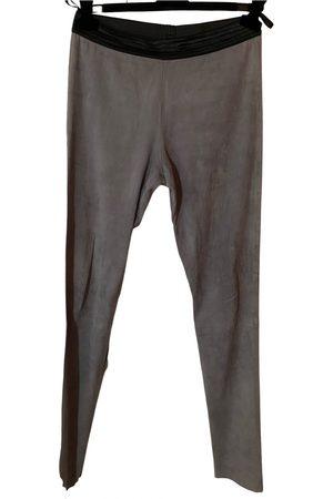 DROME Women Leggings - Leather leggings