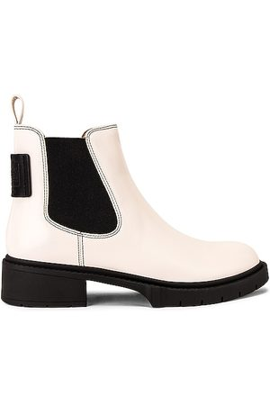 Coach Lyden Bootie in Ivory.