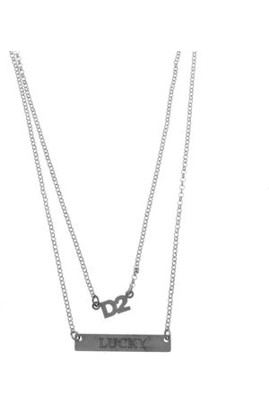 DSQUARED2 Two Chain Necklace