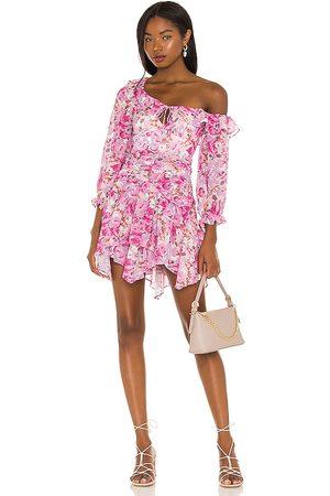 For Love & Lemons Sofia Mini Dress in .