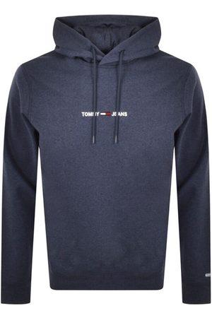 Tommy Hilfiger Men Straight - Straight Logo Hoodie Navy