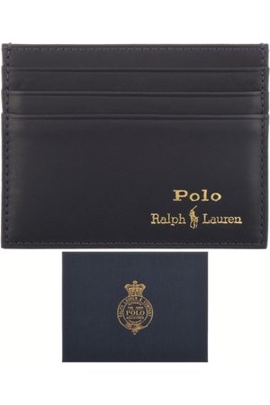 Ralph Lauren Men Wallets - Leather Card Holder Navy