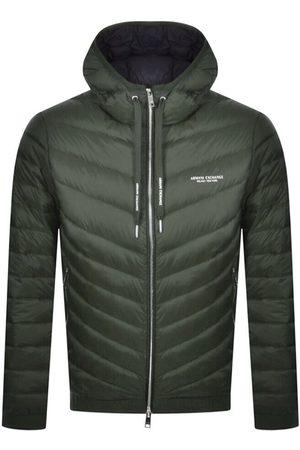 Armani Men Jackets - Hooded Down Jacket