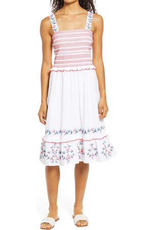 Draper Women's Taylor Smocked Sleeveless Dress