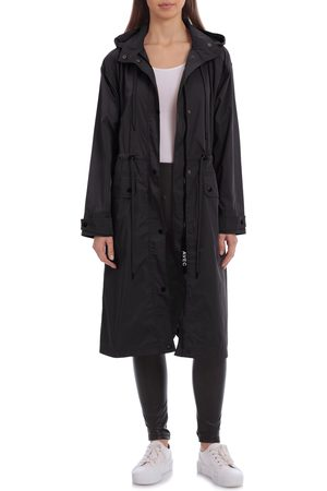AVEC LES FILLES Women's Oversize Water Resistant Rain Coat