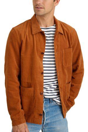ALEX MILL Men's Corduroy Work Jacket