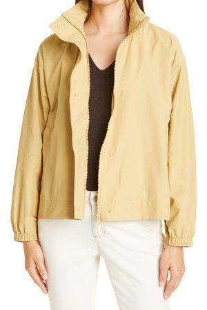 Eileen Fisher Women's Stand Collar Organic Cotton Blend Jacket