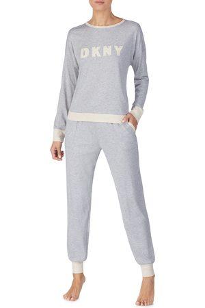 DKNY Women's Logo Pajamas Set