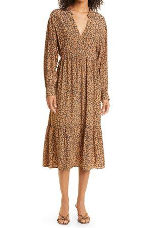 Rails Women's Maple Long Sleeve Tiered Dress