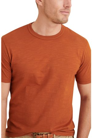 ALEX MILL Men's Solid Slub T-Shirt