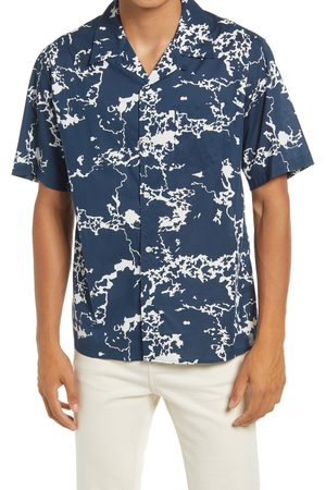 Norse projects Men's Carsten Print Short Sleeve Button-Up Shirt