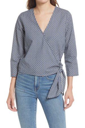Madewell Women's Women's Textured Cotton Wrap Top