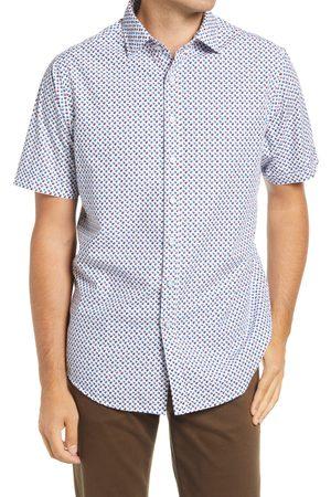 Rodd & Gunn Men's Concial Hill Dot Print Short Sleeve Button-Up Shirt