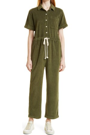 ALEX MILL Women's Benny Terry Cloth Jumpsuit
