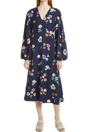 STINE GOYA Women's Rosen 1229 Structure Stretch Long Sleeve Dress