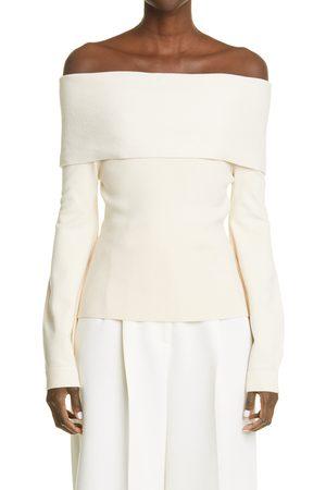 Altuzarra Women's Ashby Off The Shoulder Sweater