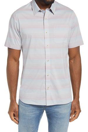 Travis Mathew Men Short sleeves - Men's Increments Short Sleeve Button Down Shirt