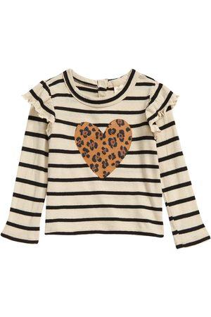 Tucker + Tate Girls Long Sleeve - Infant Girl's Long Sleeve Ruffle Shirt