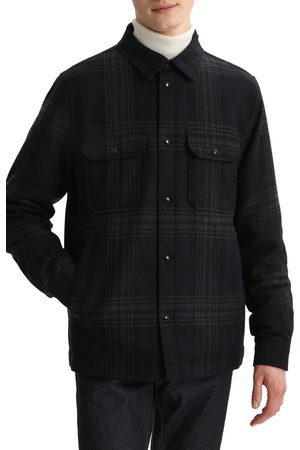 Woolrich Men's Quilted Check Overshirt