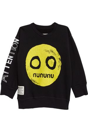 Nununu Toddler Kids' Smile Cotton Graphic Sweatshirt