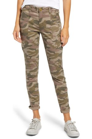 Wit & Wisdom Women Cargo Pants - Women's Flex-Ellent Camo High Waist Cargo Pants
