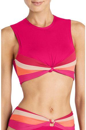 Robin Piccone Women's Billie Crop Bikini Top