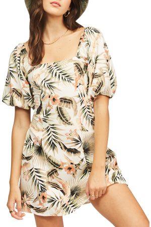 Billabong Women's Puff Sleeve Minidress