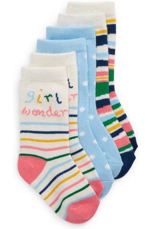 Tucker + Tate Toddler Girl's Kids' 3-Pack Assorted Crew Socks