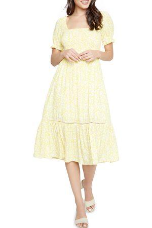 Lost + Wander Women's Sweet Summer Daze Smocked Midi Dress