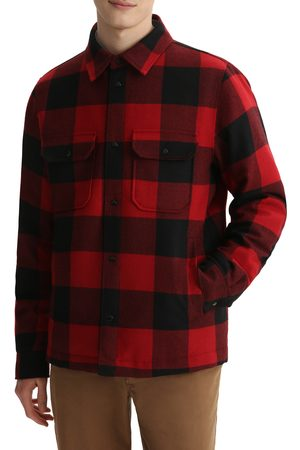 Woolrich Men Casual - Men's Quilted Check Overshirt