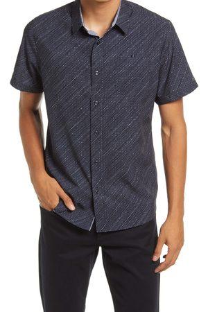 7 Diamonds Men Short sleeves - Men's Beat Box Short Sleeve Button-Up Performance Shirt